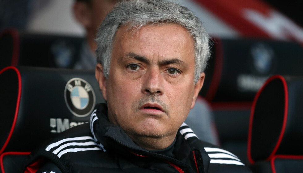 KONTROVERSIELL: José Mourinho og Manchester United forbereder FA-cupfinalen mot Chelsea. Foto: NTB scanpix