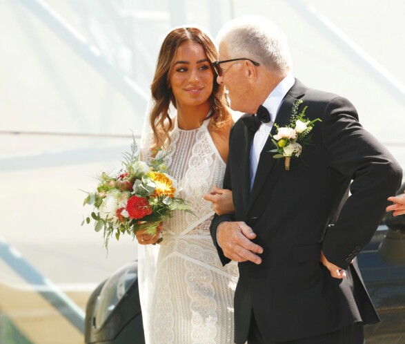 GIFTEKLAR: Jamina Iversen giftet seg med Stian Blipp 19. mai. Foto: Tor Lindseth