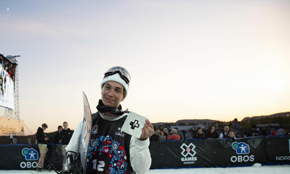 ÅRETS TREDJE: Marcus Kleveland har hentet hjem medaljer i alle X-Games-øvelsene han har stilt opp i i 2018. Foto: Fredrik Hagen / NTB scanpix