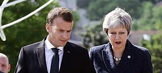 Stoiske briter viser klare tegn til panikk