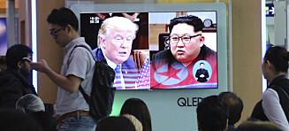 Trump og Moon i telefonsamtale for å diskutere Nord-Korea