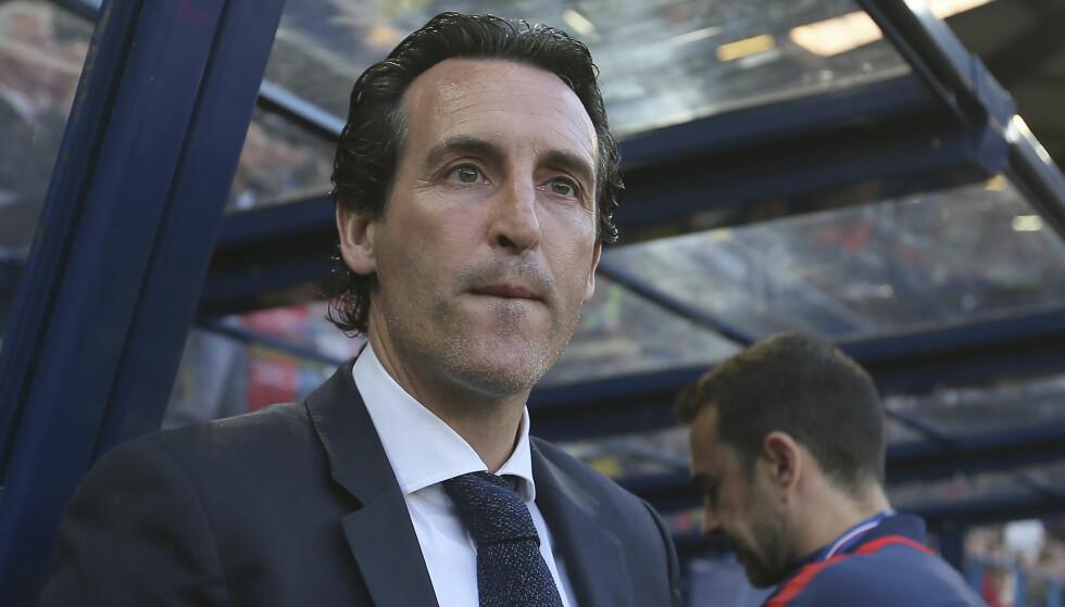 NY MANAGER: Unai Emery skal være Arsenals neste manager ifølge flere engelske medier. Foto: David Vincent / AP