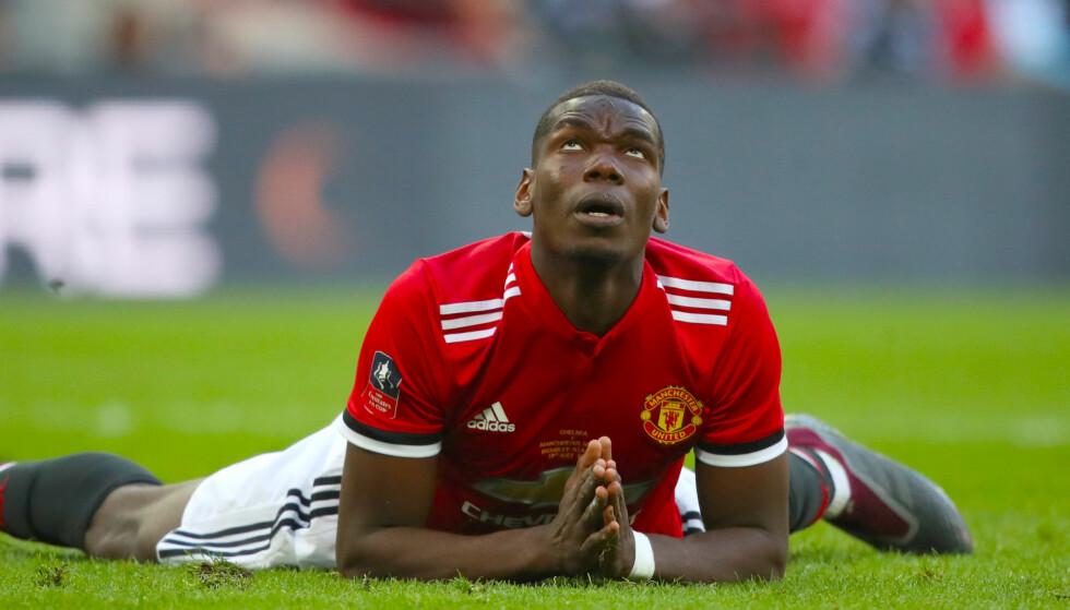 UTELUKKER IKKE EXIT: Paul Pogba kan forlate Manchester United denne sommeren. Foto: NTB Scanpix