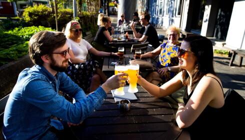 IKKE BARE ØL: På pubben Grisen får du meget god mat i tillegg til et bredt utvalg av øl.