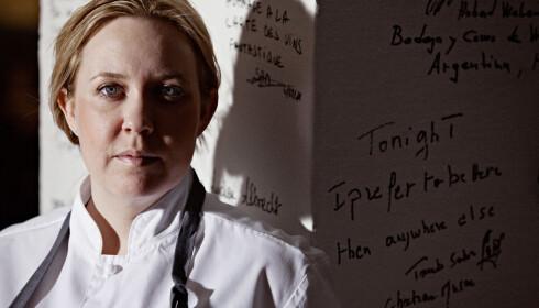 BEVISST: Kari Innerå har et bevisst forhold til familiens kosthold. Foto: Sune Eriksen