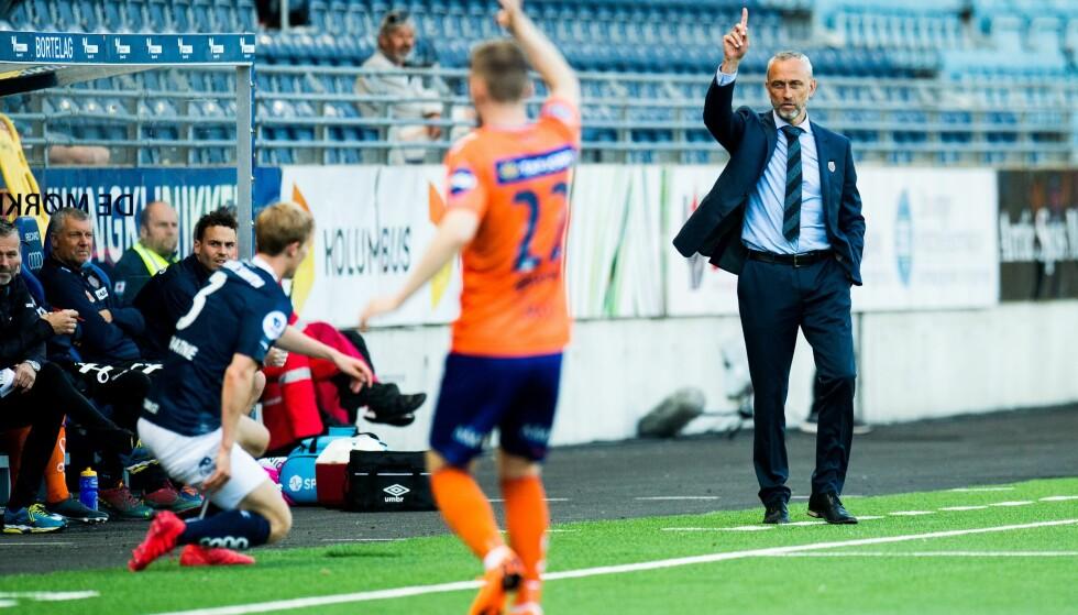 NY SEIER: Lars Bohinen og Aalesund topper OBOS-ligaen. Foto: Jon Olav Nesvold / Bildbyrån