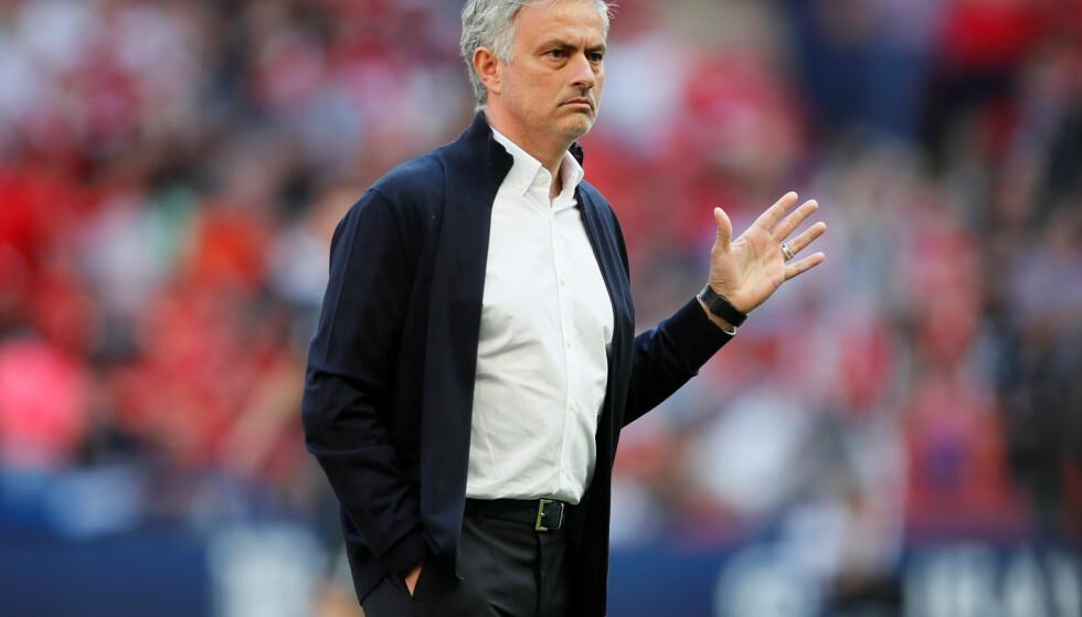 VERDENS MEST VERDIFULLE: Jose Mourinho leder verdens mest verdifulle fotballklubb. Foto:  REUTERS/David Klein
