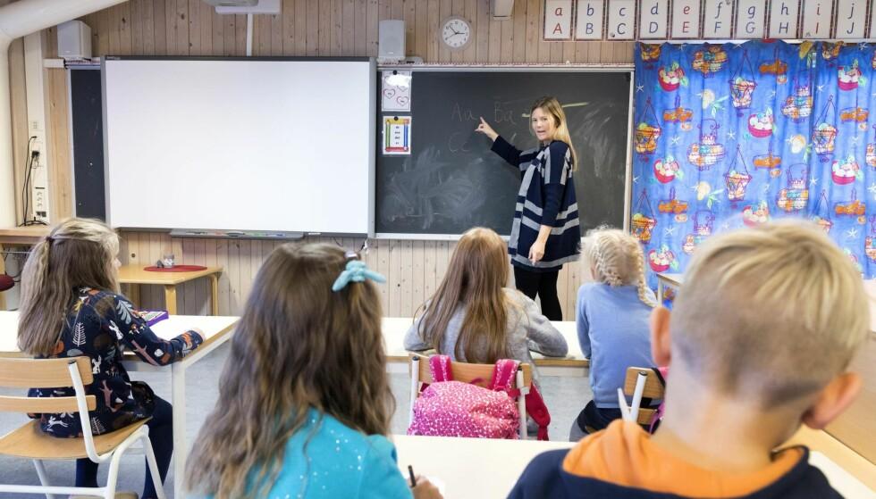 STORT BEHOV: Etter 18 år med Høyre-styre i landets hovedstad er behovet for flere lærere her særlig stort, skriver skolebyråden i Oslo. Foto: Gorm Kallestad / NTB scanpix