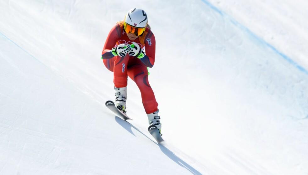 KLOK HJELP: Et velprøvd norsk forskningsprosjekt hjalp Ragnhild Mowinckel fram til et sensasjonelt OL-sølv. Det kunnskapsbaserte samarbeidet er noe av hemmeligheten bak Norges suksess i vintersport. FOTO: AFP/Dimitar Dilkoff.