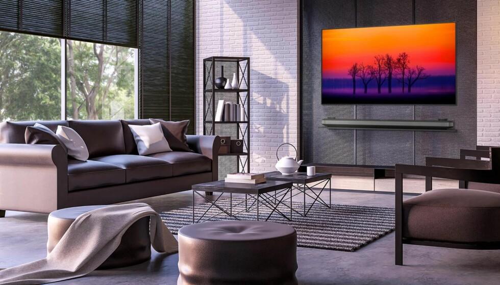 PREMIUMFØLELSE: Med LGs OLED-tv-er blir det lyse helt lyst - og viktigere: det sorte helt sort.