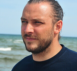IKKE FARLIG: Håbrannen er ikke farlig, presiserer marinbiolog og haiekspert Fredrik Myhre. Foto: Hjelp Havets Haier