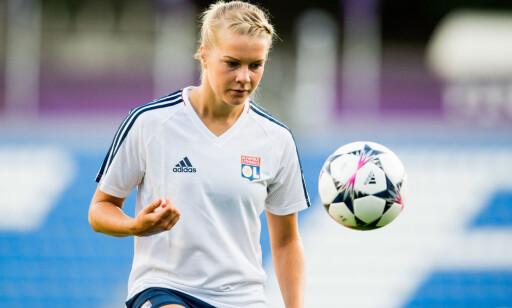 VIL LØFTE TROFÉET PÅ NYTT: Ada Hegerberg har vunnet Champions League med Lyon to år på rad. Nå vil hun vinne nummer tre. Foto: Bildbyrån