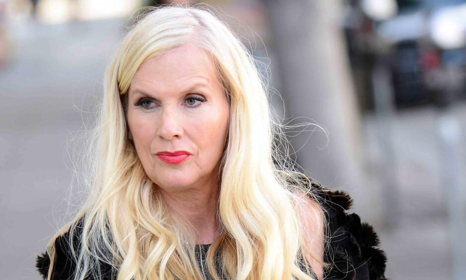 ARRESTERT: Den Svenske «Hollywoodfruen» Gunilla Persson, skal tirsdag kveld ha blitt pågrepet av politiet i Palm Beach, Florida, mistenkt for grovt tyveri. Foto: NTB Scanpix.