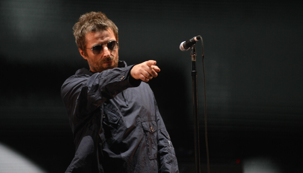 PAPPAVANSKER: Liam Gallagher har totalt fire barn, men har bare kontakt med to av dem. Nå, 19 år etter at han møtte sin eldste datter Molly sist, er de to blitt gjenforent. Foto: NTB scanpix