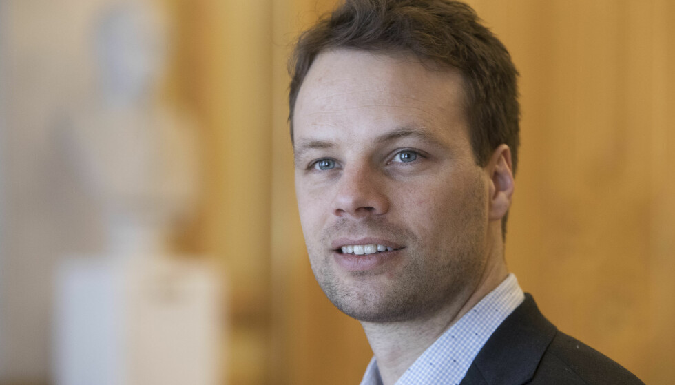 MYE RART: Fremskrittspartiets innvandringspolitiske talsmann Jon Engen-Helgheim mener Venstre har fått til mye rart på klima som partiet heller burde snakke om enn 3.000 kvoteflyktninger. Foto: Ole Berg-Rusten / NTB Scanpix