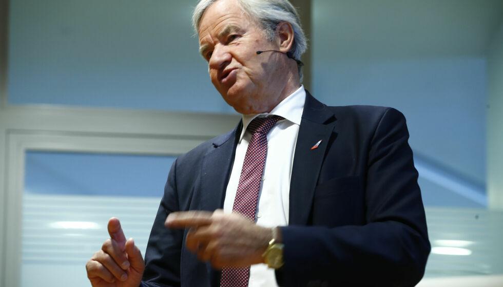INTERESSE: Bjørn Kjos sier at Ryanair har vist interesse for å kjøpe flyselskapet. Foto: NTB scanpix