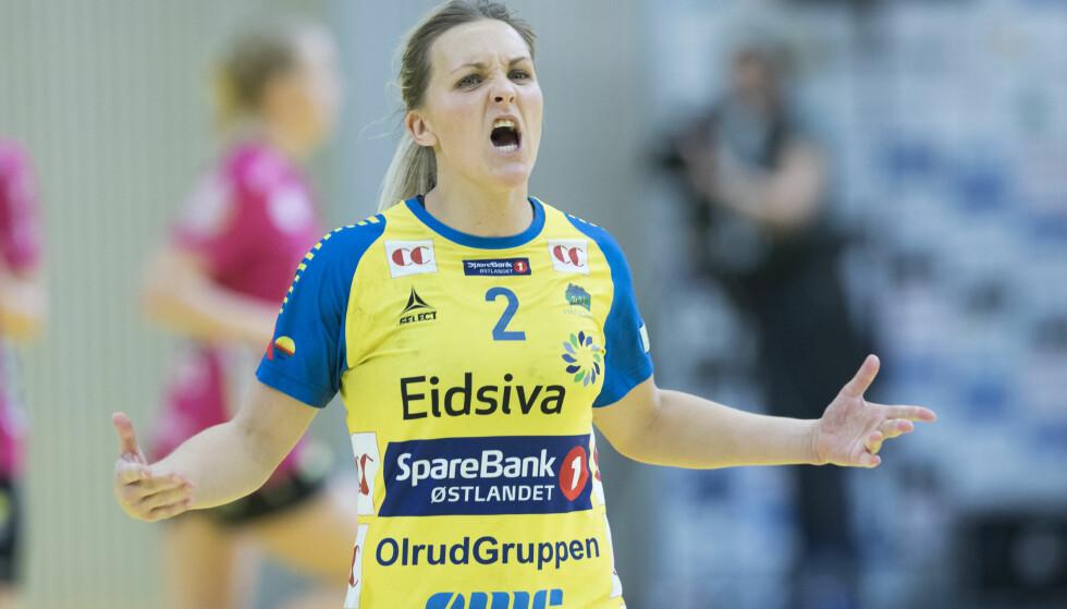 GRAVID: Kamilla Sundmoen. Foto: Terje Pedersen / NTB scanpix