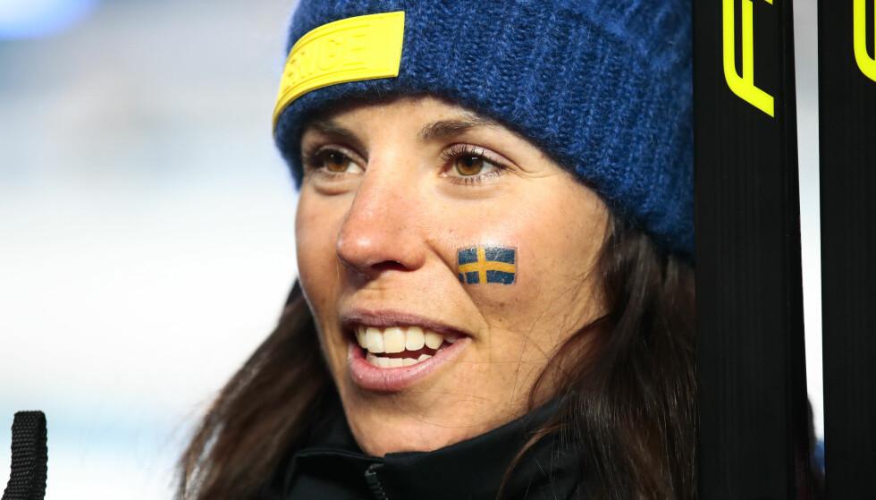 TVILSOM: Charlotte Kalla heller mot å ikke delta i Tour de Ski den kommende sesongen. Foto: Lise Åserud / NTB scanpix