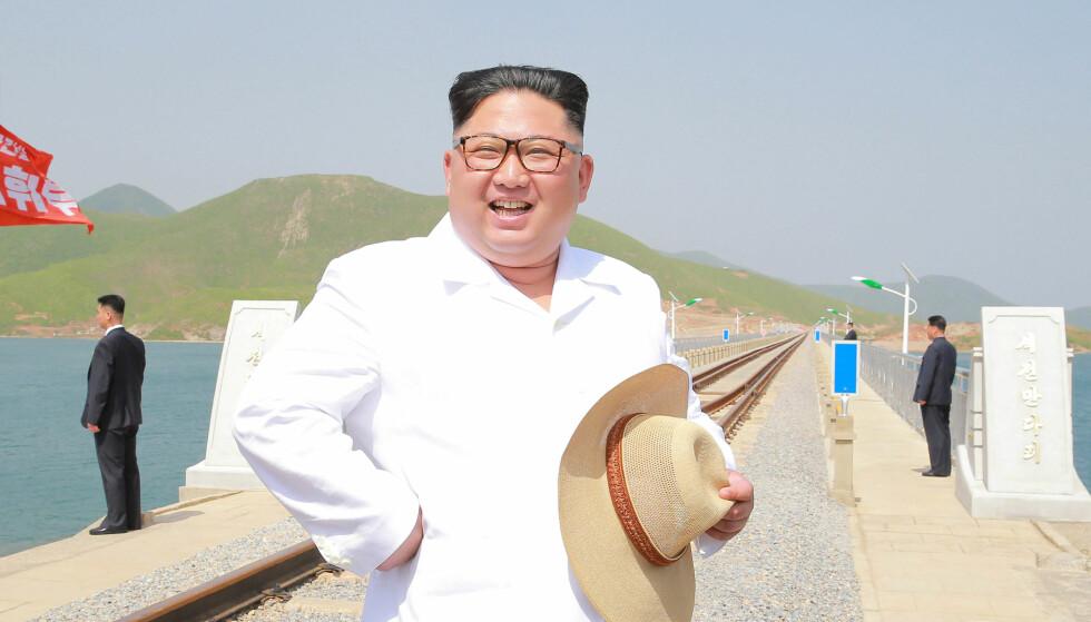 VIL MØTE TRUMP: Nord-Korea, her representert ved leder Kim Jong-un sier de fremdeles er villige til å møte USA for å løse problemer. Foto: KCNA / via REUTERS / NTB scanpix