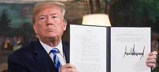 Trump har rett om Iran-avtalen