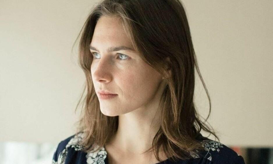 USKYLDIG DØMT: Amanda Knox kommer til Norge i oktober. Hun skal intervjues av Sarah Natasha Melbye på Folketeatret i Oslo. Foto: Presse