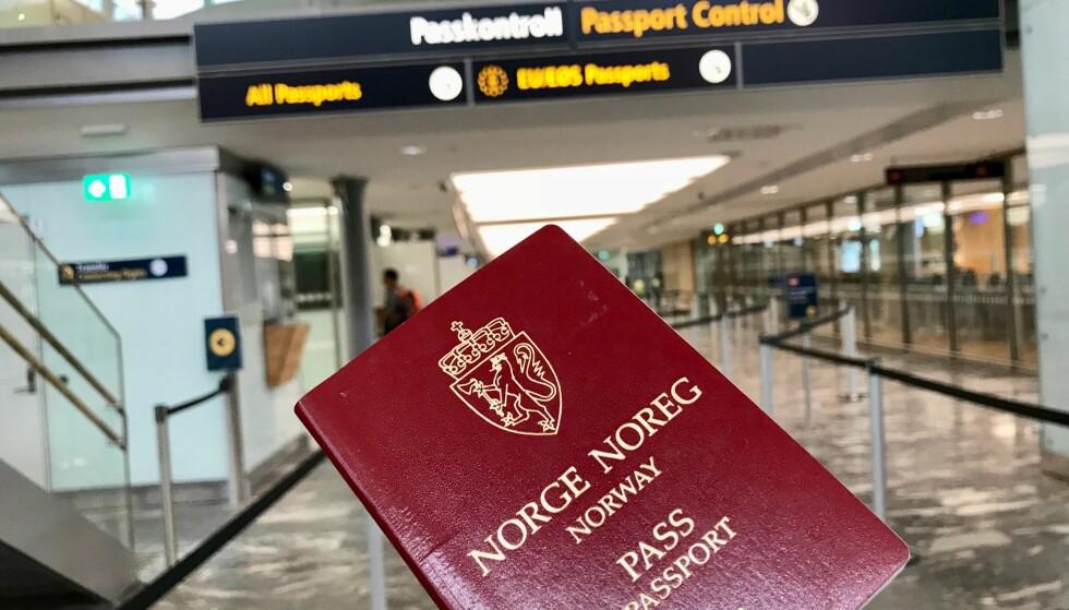 Verdipapir: Det norske passet gir deg visumfri adgang over store deler av verden. Foto: Odd Roar Lange/The Travel Inspector