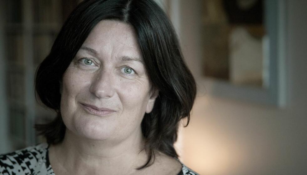 DREVEN: Line Baugstø har vært forfatter i over 30 år, og skriver både for barn og voksne. Foto: Bjørn Langsem