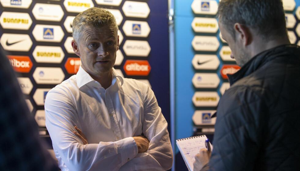 PÅ ØNSKELISTA: Ole Gunnar Solskjær står tilsynelatende høyt på ønskelista når Malmö nå leter etter en ny trener. Foto: Svein Ove Ekornesvåg / NTB scanpix