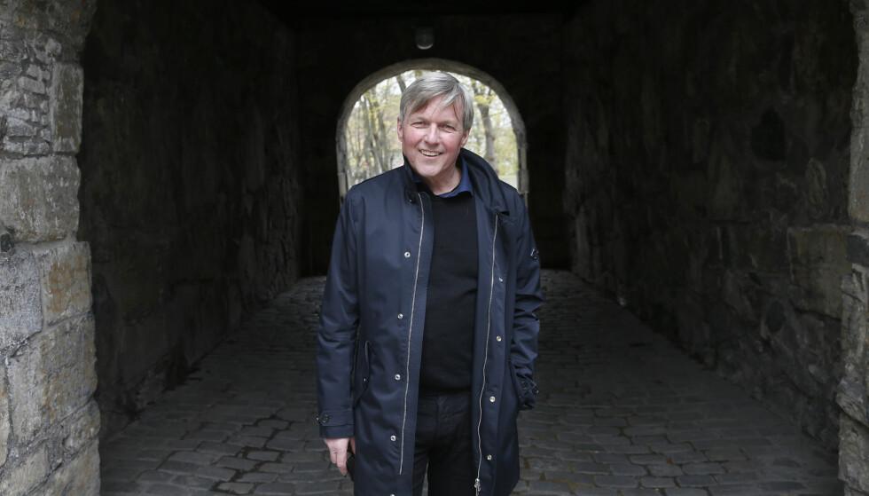 IKKE LIKE BRA: Jan Ove Ekeberg fikk terningkast seks for sin første roman om Harald Hårdråde. Bok nummer to vekker ikke like stor begeistring. Foto: NTB SCANPIX