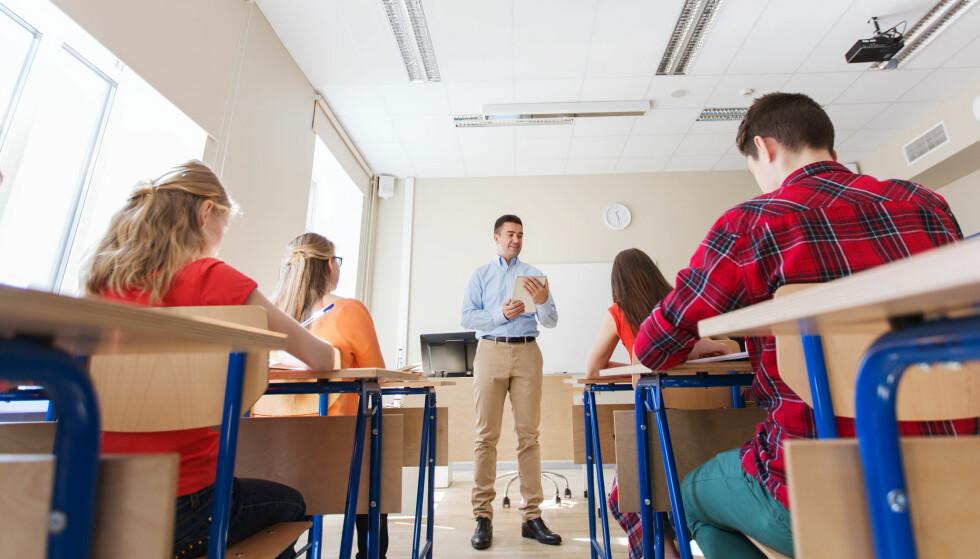 OMFATTENDE PROBLEM: En lekse ved Kannik skole i Stavanger skapte debatt denne uka, men dette handler om mer enn skoleverket, mener kommentatoren. Foto: NTB SCANPIX / SHUTTERSTOCK