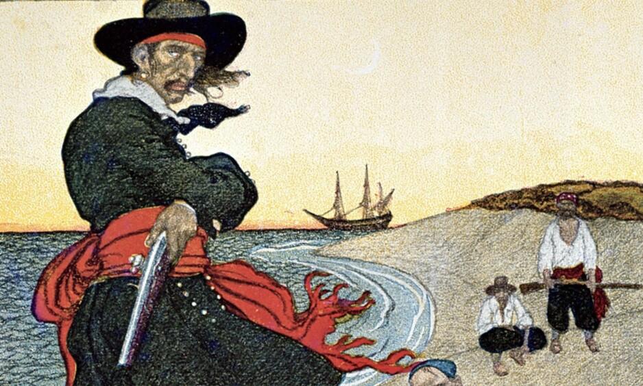 HENRETTET 23.MAI: Den beryktede skotske sjørøveren Kaptein William Kidd.