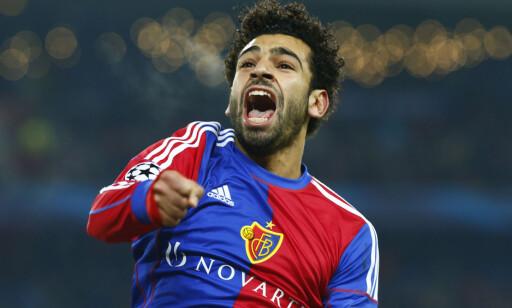 GJENNOMBRUDDET: Mohamed Salah i Basel. Foto: Ruben Sprich / Reuters / NTB Scanpix.