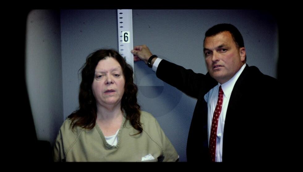 DØMT OG DØD: Marjorie Diehl-Armstrong beskrives som ond tvers gjennom. Ifølge Time døde hun i fengsel i 2017. Foto: AFP / Netflix / NTB Scanpix