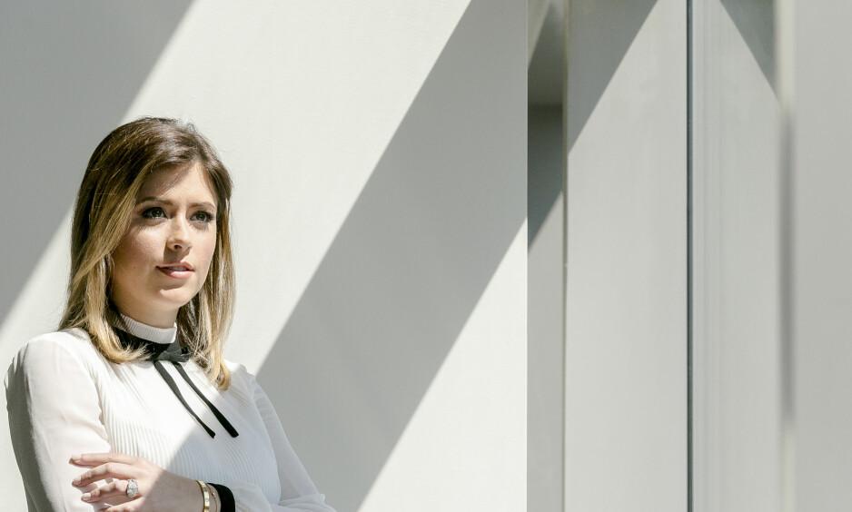 OVER STREKEN: CNN-journalist Chloe Melas har dekket filmbransjen i flere år, og sier at Morgan Freeman var den første til å gå over streken. Foto: Jeenah Moon / The New York Times / NTB Scanpix