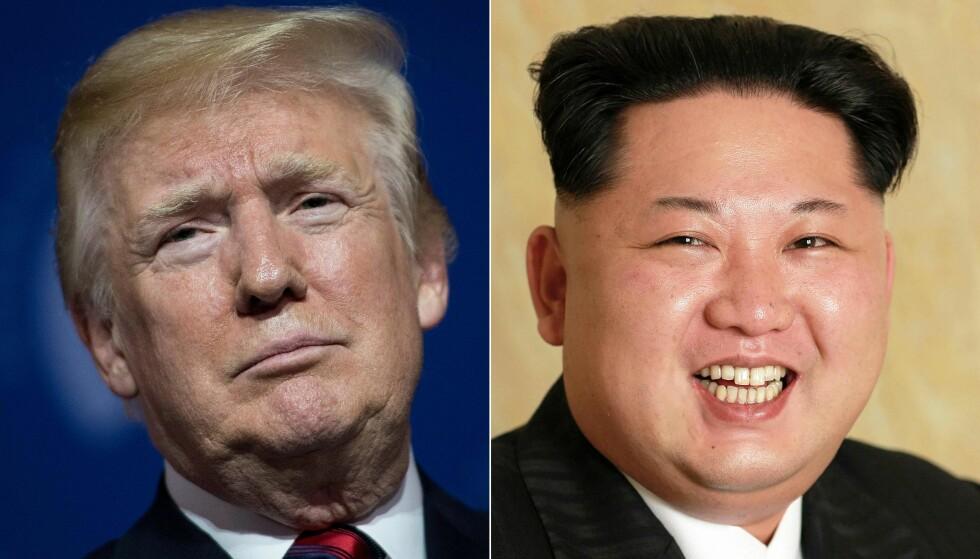 HISTORISK MØTE: For første gang i historien møter en sittende amerikansk president en nordkoreansk leder. Foto: AFP / NTB Scanpix