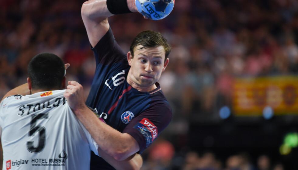 BRONSE: Sander Sagosen og PSG fikk revansje etter gårsdagens semifinaletap. Foto: AFP PHOTO / PATRIK STOLLARZ