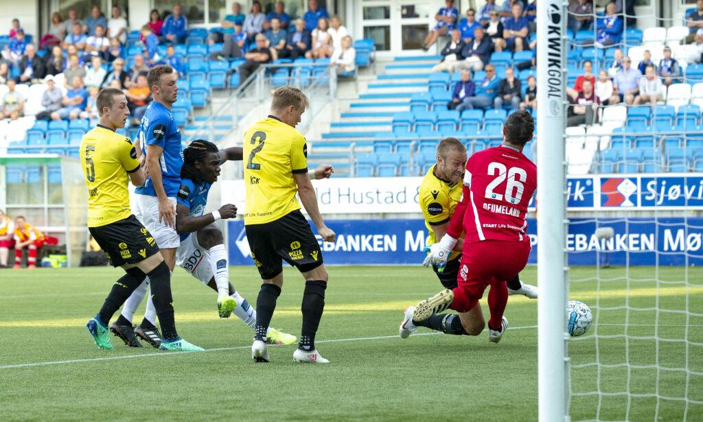 image: Molde-spiss med sin første eliteseriescoring siden 2014 da Molde vant