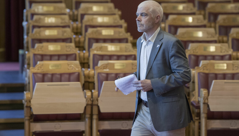KRITISK: SVs justispolitiker Petter Eide reagerer på utspillet om knallharde straffer. Foto: Ole Berg-Rusten / NTB Scanpix