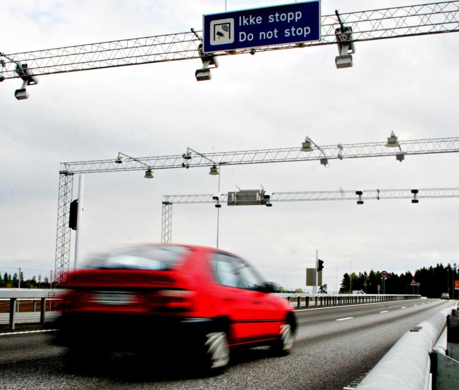KRAFTIG ØKNING: Nye, store veiprosjekter med bompengefinansiering bidrar til at bompengene øker kraftig de neste åra. Foto: Rune Korsvoll