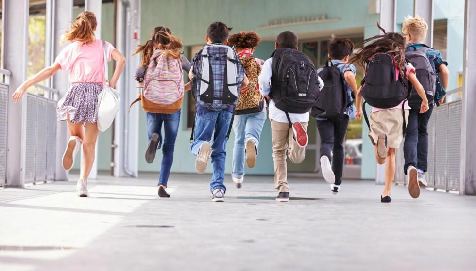 FOR VIKTIG: Norske elever er for viktig til at forslag som kan gjøre skolehverdagen bedre blir avfeid som vås av stortingspolitikere, skriver artikkelforfatteren. Illustrasjonsfoto: NTB scanpix