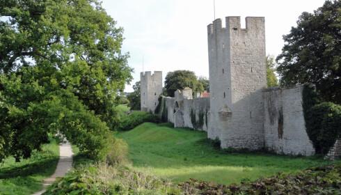 HISTORISK: Bymuren fra 1200-tallet er en av verdens best bevarte.