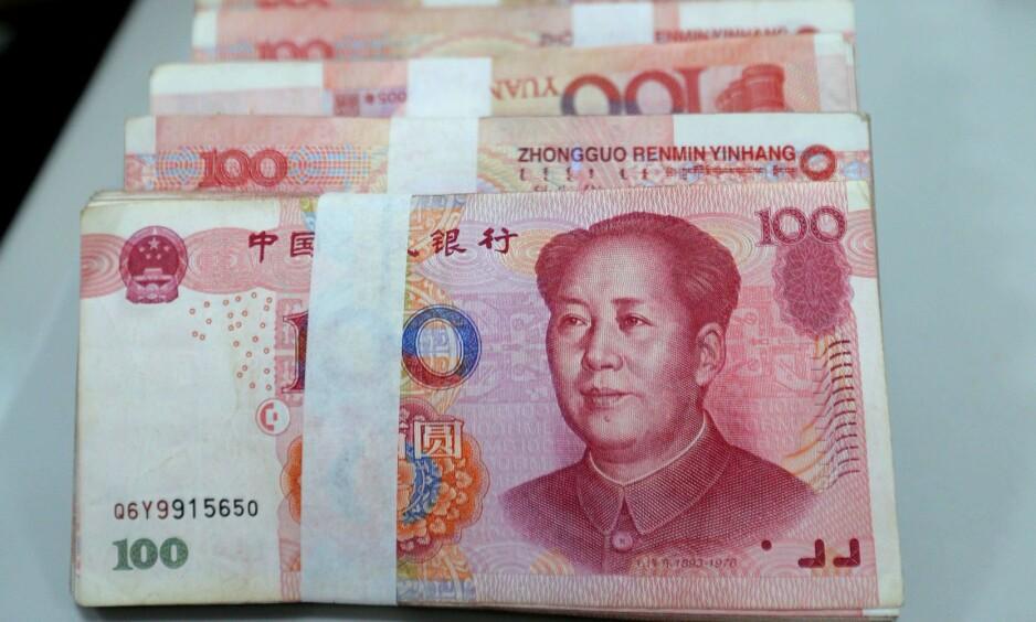 RESERVEVALUTA? En rekke afrikanske land skal diskutere om det er aktuelt å innføre den kinesiske valutaen yuan som reservevaluta. Foto: NTB scanpix