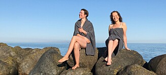 Hopp i havet, for et dejlig badehotell