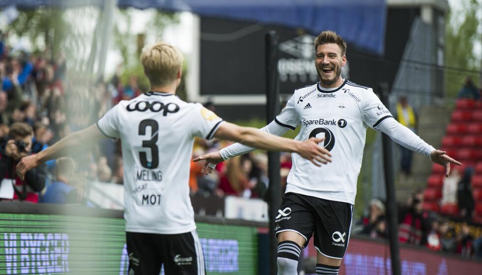 LOVENDE TILBAKEMELDINGER: Åge Hareide er positiv på Nicklas Bendtners vegne. Foto: Ole Martin Wold / NTB scanpix
