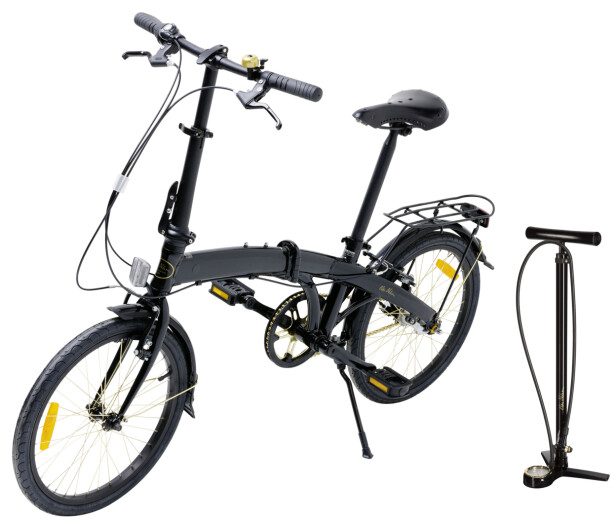 SMART SYKKEL: Limited edition-sykkelen er sammenleggbar slik at du kan ta den med deg hvor som helst.