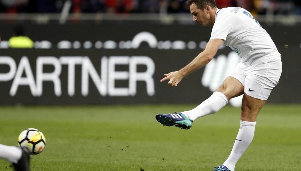 TRENERJOBB: Frank Lampard skal være i samtaler med Derby om managerjobben. Foto: Antonio Calanni / AP / NTB scanpix