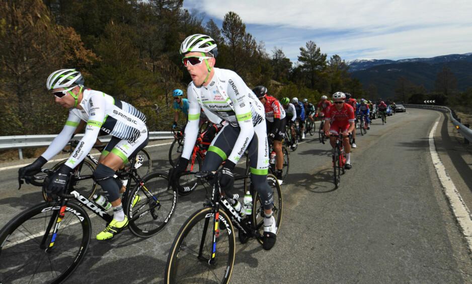 MÅ PRESTERE: Sindre Lunkes Tour de France-sjanser henger i en tynn tråd. FOTO: David Ramos/Getty Images