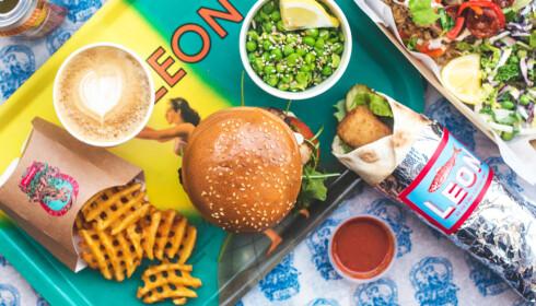 FRA ENGLAND: LEON-kjeden har eksistert i England siden 2004 - og har fokus på sunn og bærekraftig mat.