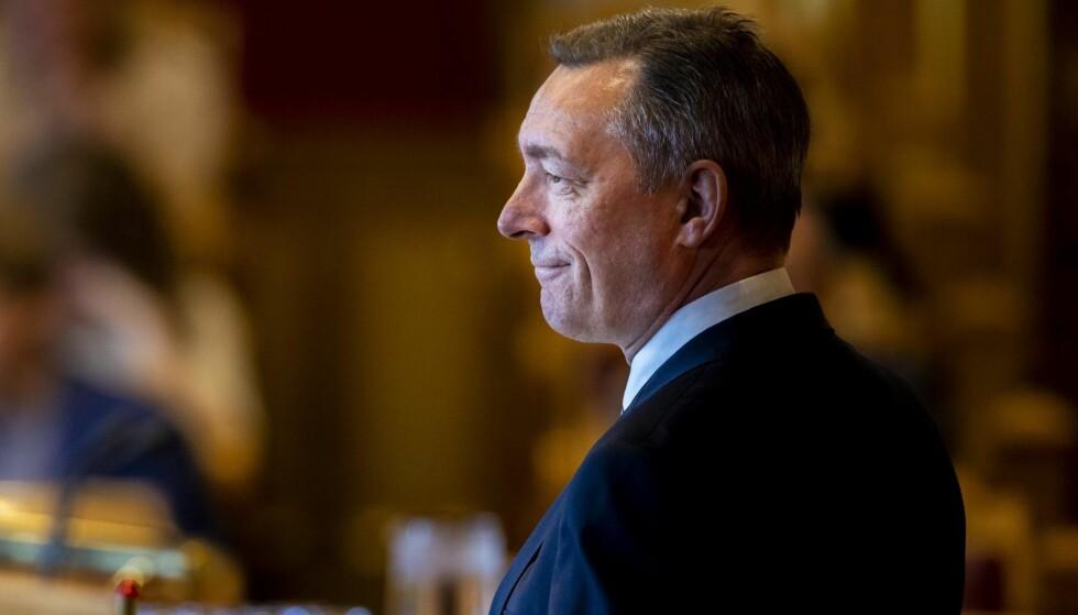 HEMMELIGHOLDER: Forsvarsminister Frank Bakke-Jensen. Foto: NTB Scanpix