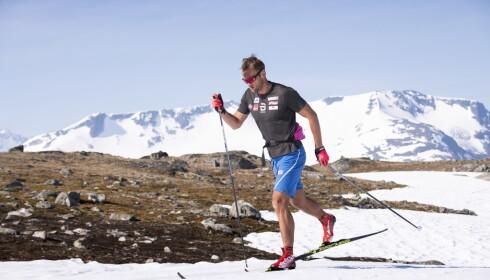 TILBAKE: Petter Northug er tilbake på landslaget og tilbake i godt slag. Foto: Lars Eivind Bones / Dagbladet